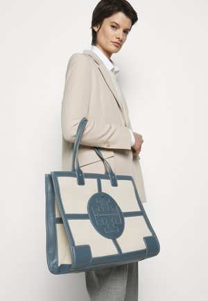 ELLA QUADRANT TOTE - Tote bag - natural/brunnera