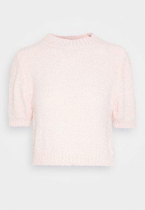 CHENILLE - Jednoduché triko - pink