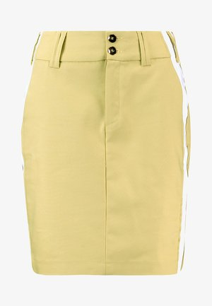 BLAKE SKY SKIRT - Jeansskjørt - shadow lime
