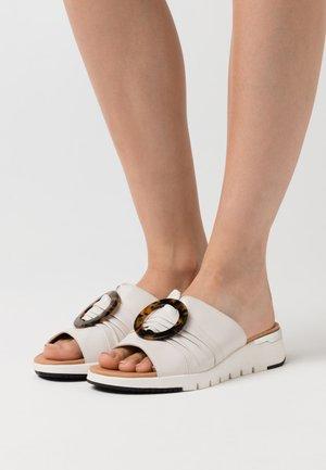 SLIDES - Pantofle - offwhite