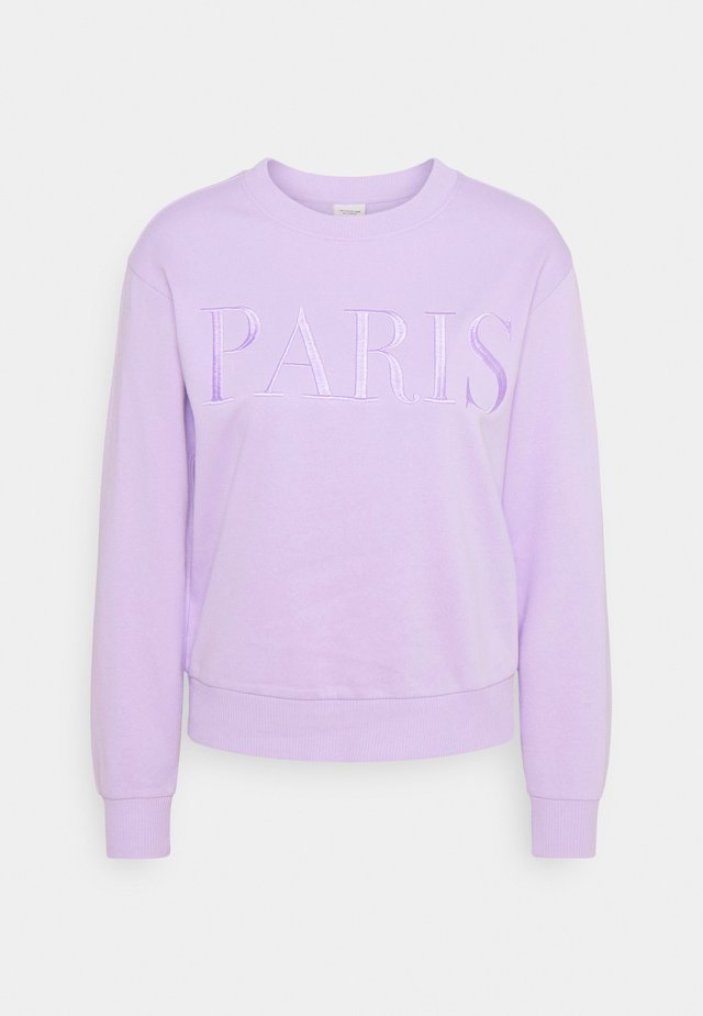 JDYPARIS TREATS - Bluza - pastel lilac/paris embroidery