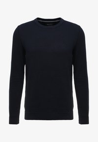 Marc O'Polo - STRUCTURED CREW NECK - Pullover - total eclipse - 3