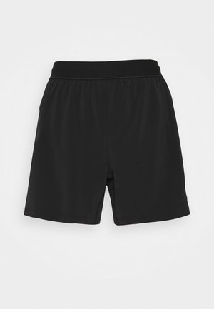 SHORT - Sports shorts - black/gray