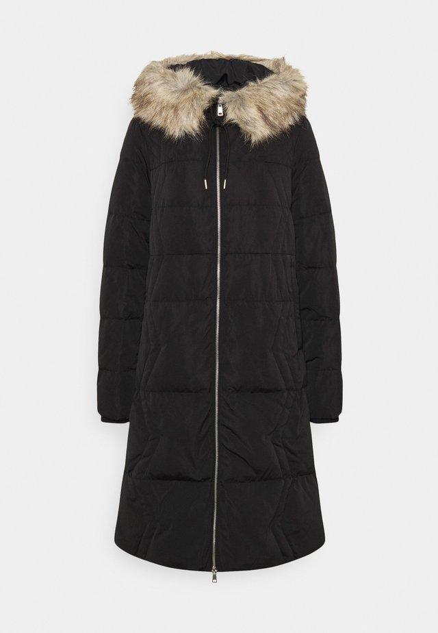 LARGE - Zimní kabát - black
