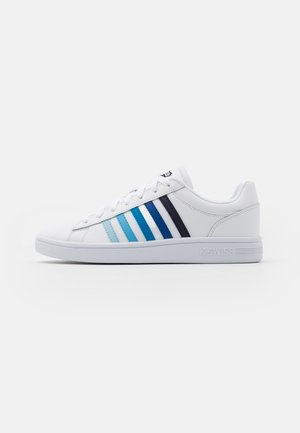 COURT WINSTON - Baskets basses - white/blue gradient