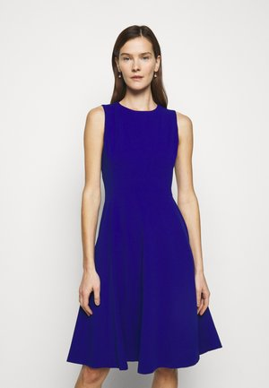 LUXE TECH DRESS - Jerseyjurk - french ultramarin
