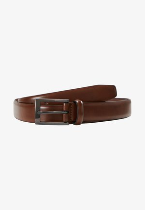 TEXT BUCKLE - Bælter - brown