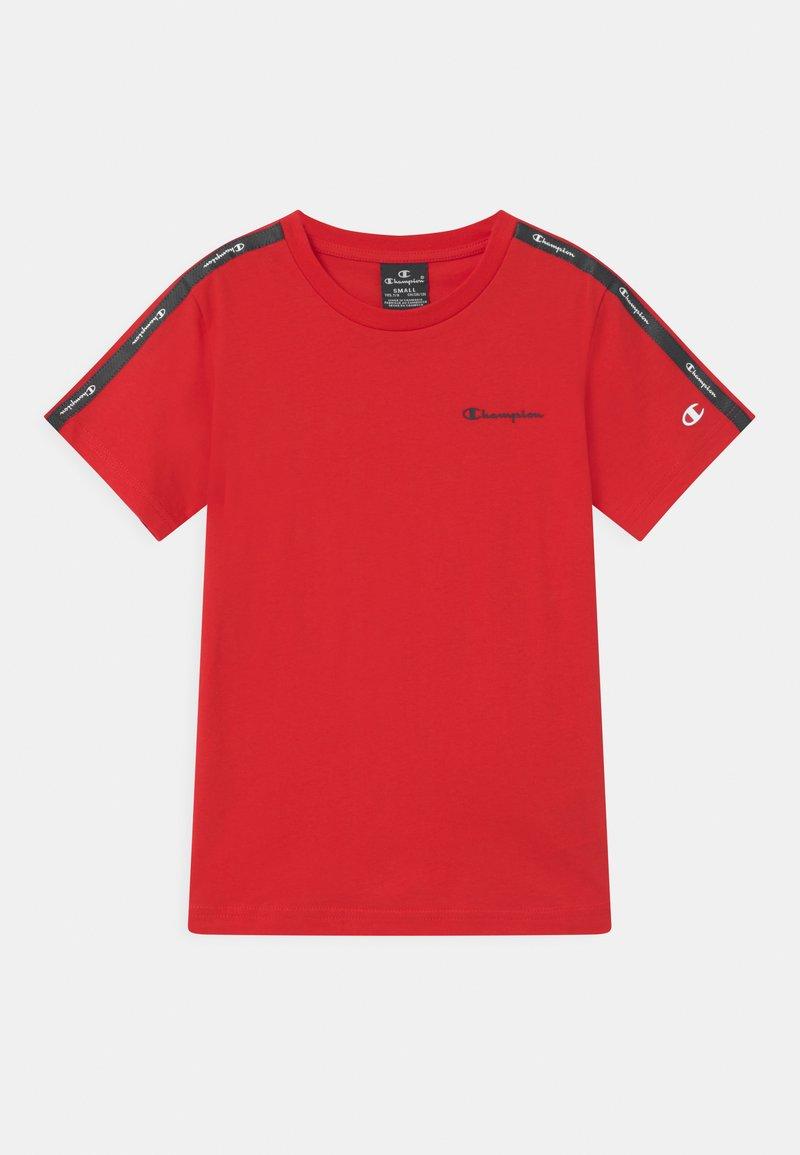Champion - AMERICAN CREWNECK UNISEX - Print T-shirt - red
