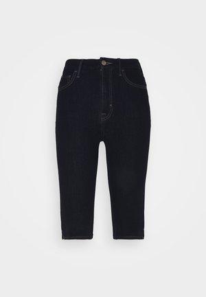 MAGIC - Denim shorts - dark blue denim