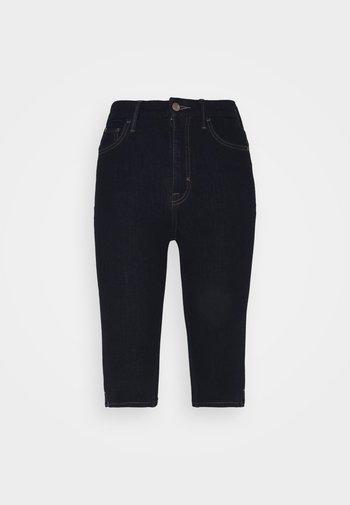 MAGIC - Short en jean - dark blue denim