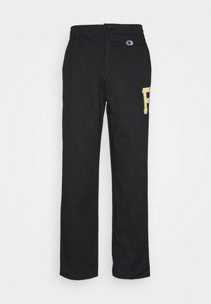 MLB PREMIUM PITTSBURGH PIRATES STRAIGHT HEM PANTS - Klubbkläder - black