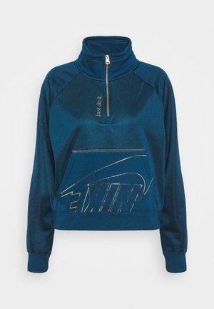 Sweatshirts - valerian blue/deep ocean/metallic gold