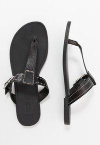 Vagabond - TIA - T-bar sandals - black - 3