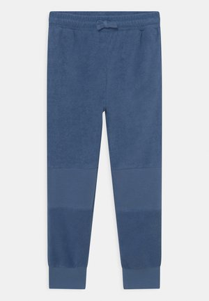 MARLO TRACKPANT - Tracksuit bottoms - petty blue/terry towelling