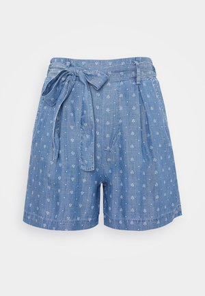 Shorts - blue medium wash