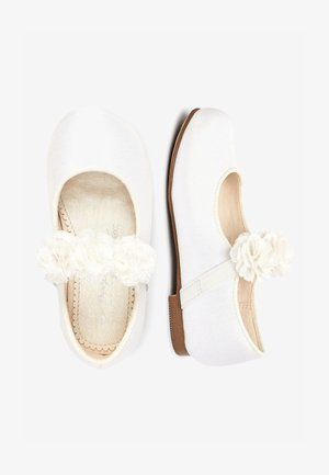 IVORY OCCASION CORSAGE MARY JANES (YOUNGER) - Ballerines - white