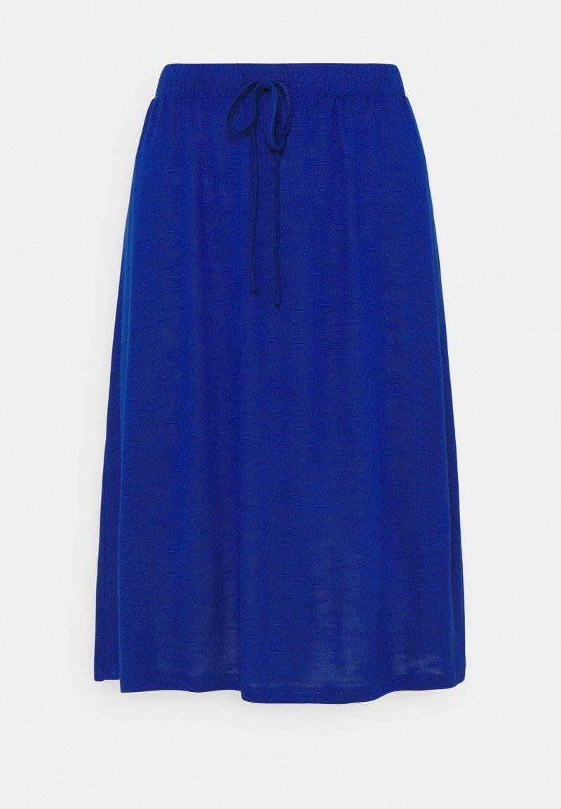 Vila - VINOEL SKIRT - A-line skirt - mazarine blue