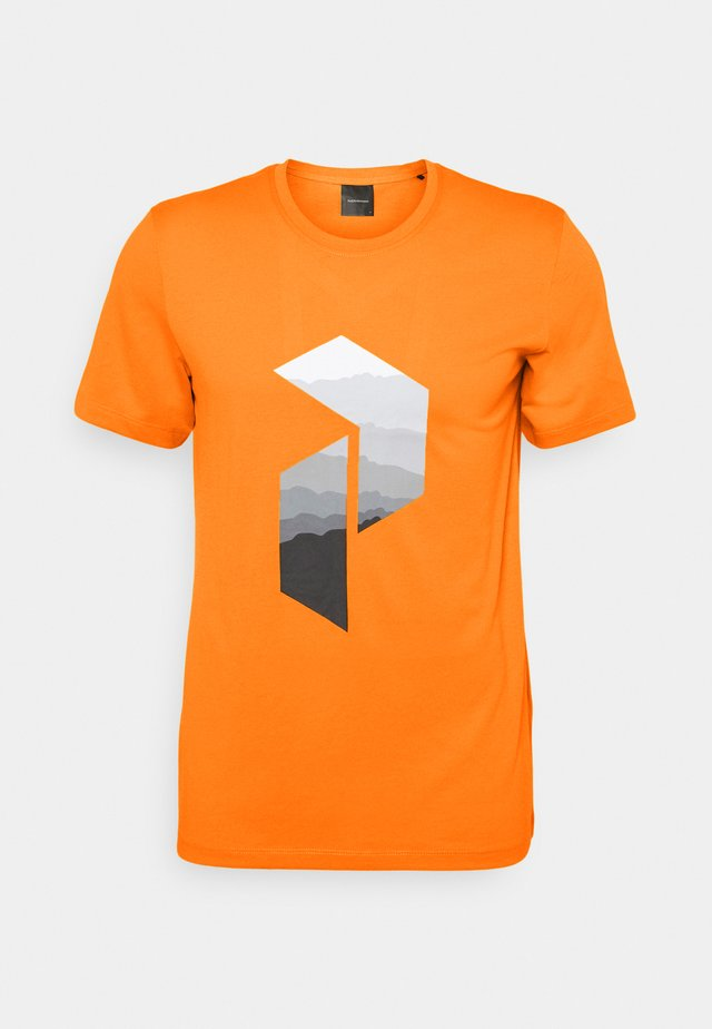 EXPLORE BIG TEE - T-shirt imprimé - explorange