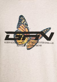 Good For Nothing - OVERSIZED OATMEAL MARL BUTTERFLY  - Sportinis megztinis - oatmeal - 4