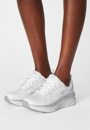 D'LUX WALKER - Sneakers laag - white/silver