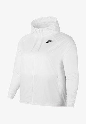 PLUS - Summer jacket - white/white/black