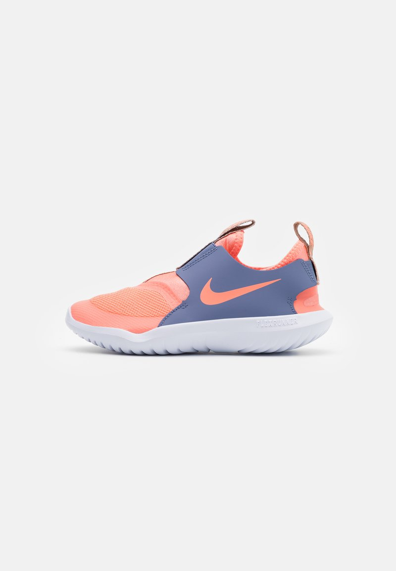 Nike Performance - FLEX RUNNER UNISEX - Zapatillas de running neutras - atomic pink/world indigo/metallic red bronze