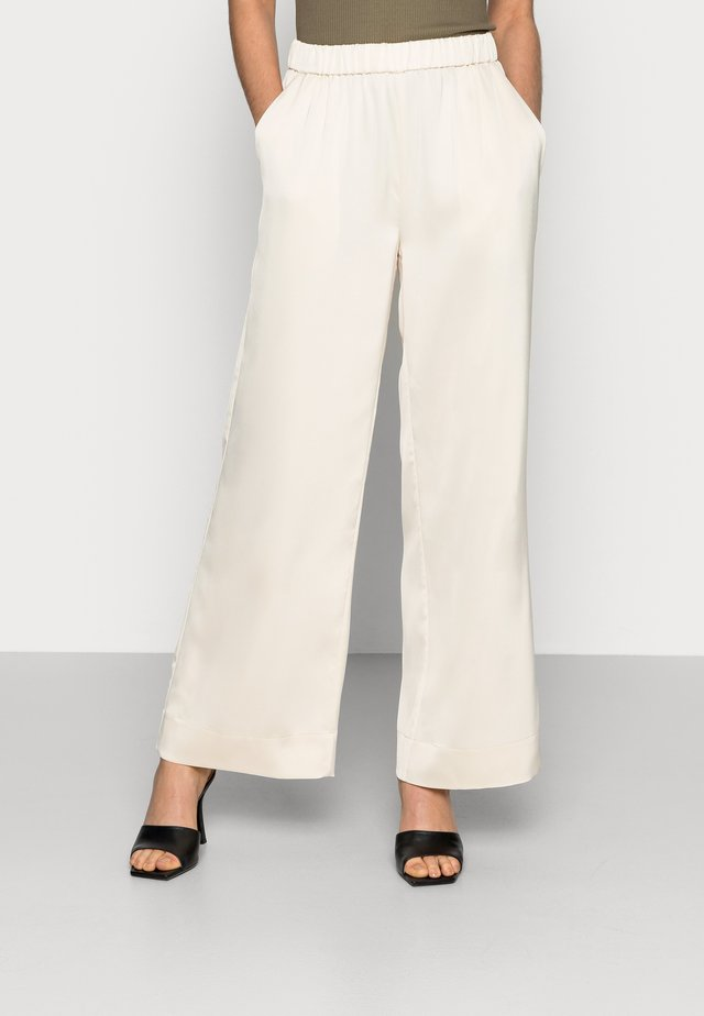 CLEAR - Trousers - off white