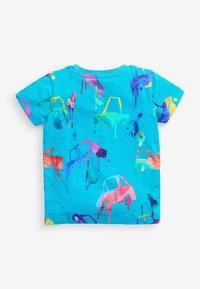 Next - T-shirt con stampa - blue - 1