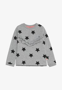 Lemon Beret - SMALL GIRLS - Sweater - grey melange as swatch - 3