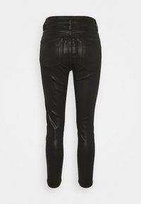 AllSaints - DAX JEAN - Jeans Skinny Fit - coated black - 1