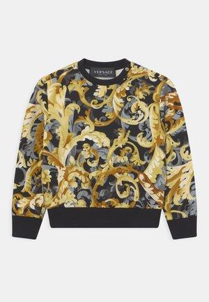 BAROCCO FLAGE UNISEX - Sweatshirt - nero/oro