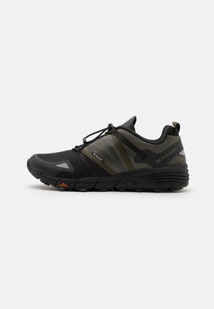 V-LITE-TRAIL RACER LOW - Chaussures de marche - olive night/black