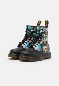 Dr. Martens - 1460 BASQUIAT - Lace-up ankle boots - black - 1
