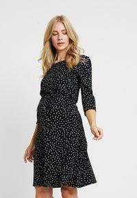 Noppies - DRESS NURS TATUM - Jerseykleid - black - 0