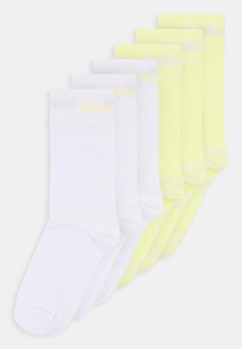 Skechers - BASIC SOCKS VENTILATION 6 PACK - Socks - charlock
