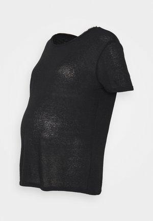 PCMSORAYA TEE - T-shirts - black
