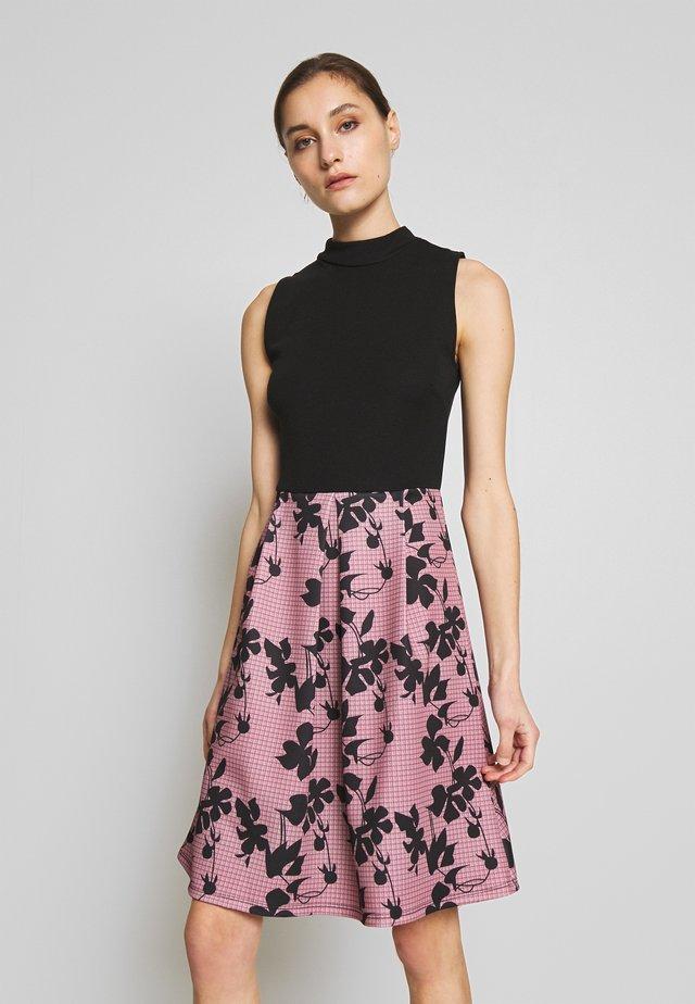 SLEEVELESS SKIRT - Cocktail dress / Party dress - rose/black