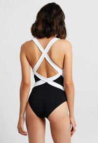 JETS Australia - LOW BACK INFINITY - Plavky - black/white - 2