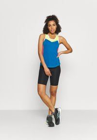 La Sportiva - JOY TANK - T-shirt sportiva - neptune/hibiscus - 1