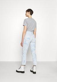Levi's® - 501 CROP - Jeans straight leg - scribble down lb - 2