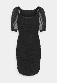 ONLY - ONLDANCE PUFF DRESS  - Cocktail dress / Party dress - black - 4