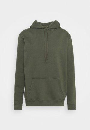 HOODED - Sweatshirt - army