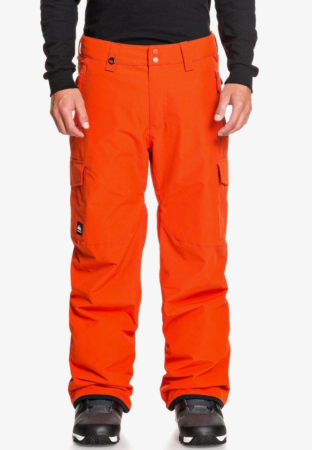 PORTER - Snow pants - pureed pumpkin