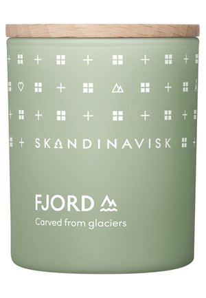 SCENTED CANDLE WITH LID - Świeca zapachowa - fjord
