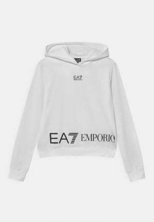 EA7 GIRL - Sweatshirt - white