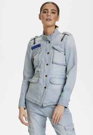 CUAMELA - Kurtka jeansowa -  blue