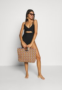 aerie - ONE PIECE WRAP SOLID - Plavky - true black - 1