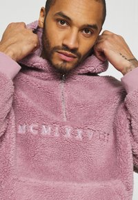 Topman - DUSTY BORG HOOD - Sweater - lilac - 5
