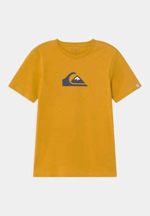 COMP LOGO  - Print T-shirt - nugget gold