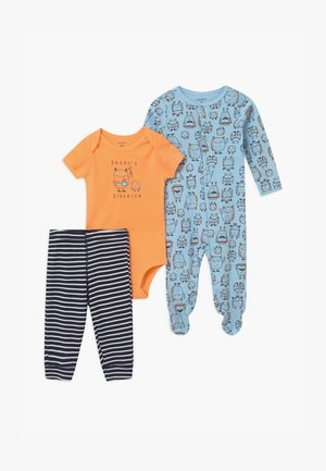SET - Body / Bodystockings - blue/orange